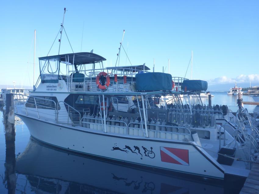 Tauchboot Lahaina Divers, Lahaina Divers, Maui, USA, Hawaii