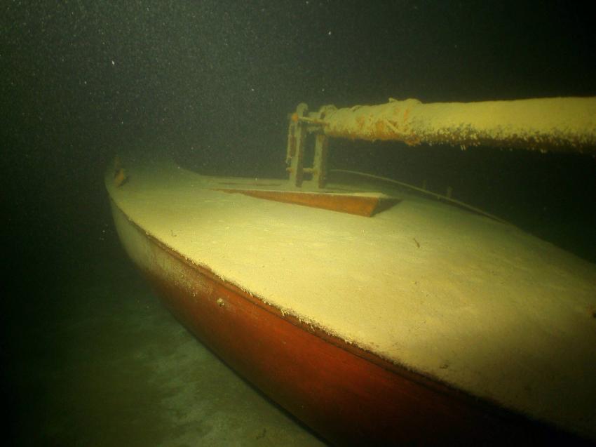 Wrack Segelboot, wörthersee, atlantis, atlantis place, steilwände, steilwandtauchen, wrack, pauli, fische, zander island, kreuz, atlantis kreuz, Atlantis Place, Österreich