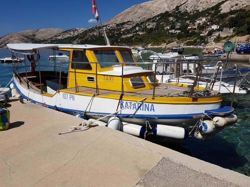 Tauchboot, Euro-Divers Croatia - Stara Baska, Kroatien