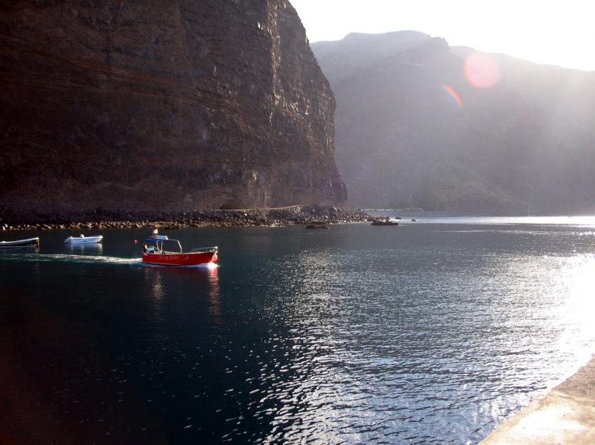 La Gomera, La Gomera,Spanien,Hafen Vueltas (Valley Gran Rey)
