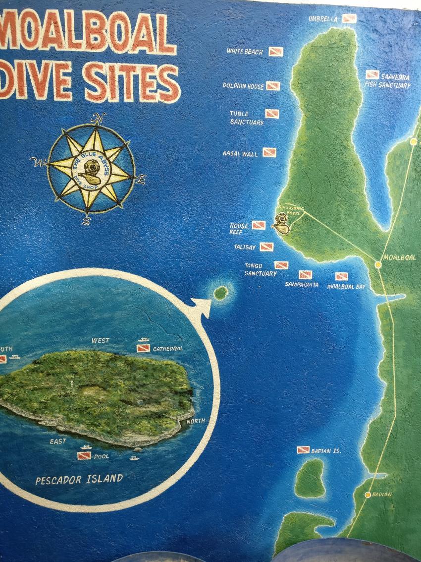 Tauchplätze, Blue Abyss Dive Shop, Cebu, Philippinen