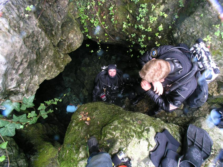 Crotta Fontanazzi, Crotta Fontanazzi,Italien,Höhleneingang