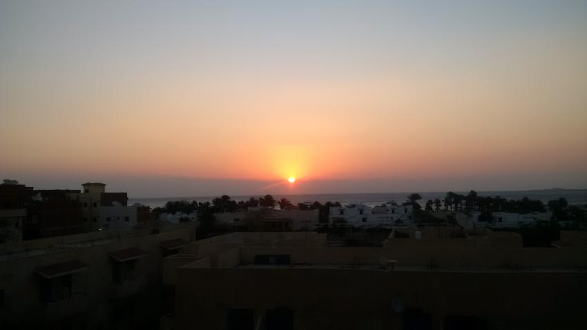 Sonnenaufgang, PANORAMA Guesthouse & Restaurant, Safaga, Ägypten, Safaga