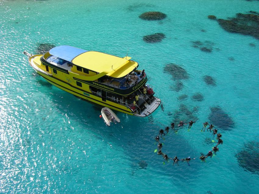 Excalibur II, Sea Bees Diving, Chalong/Phuket, Thailand, Andamanensee