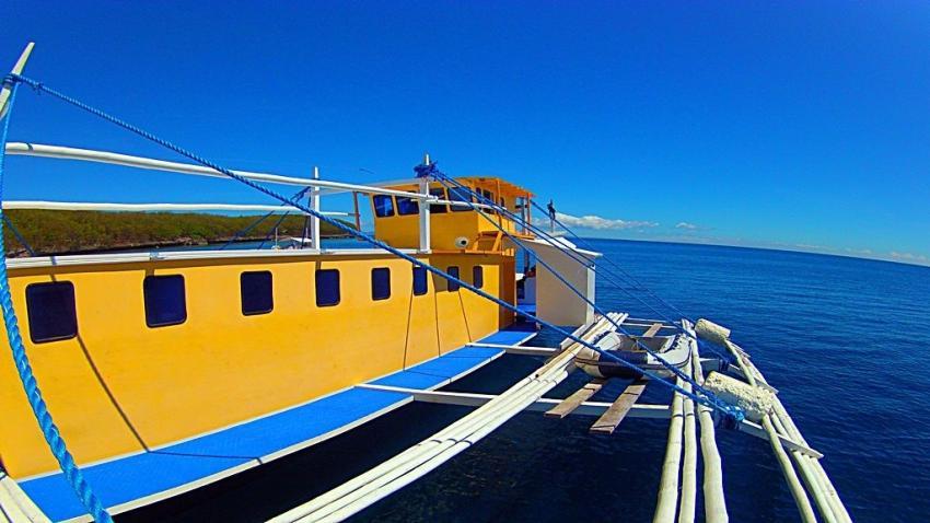 Bernds Tauchsafaris Philippinen, Safariboot, Bernds Tauchsafaris, Bohol, Philippinen