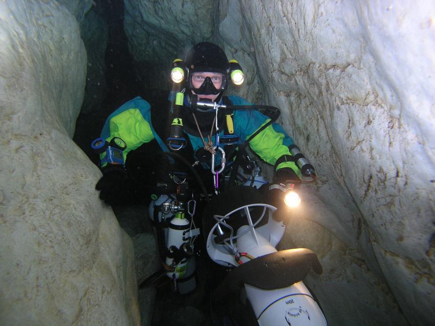 Crotta Fontanazzi, Crotta Fontanazzi,Italien,höhlentaucher
