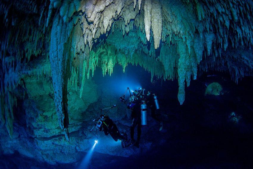 Cenoten Höhlentauchen Mexiko, Planet Scuba Mexico, Mexiko