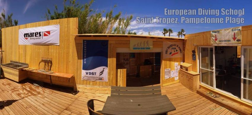EDS Center Saint Tropez, 2016, European Diving School, Saint Tropez (Südfrankreich), Frankreich