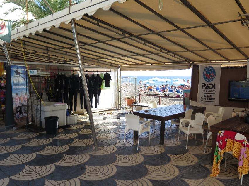 Tauchbasis Delphinus Lounge, Tauchbais basis Gran Canaria, TauchbasisTaurito, tauchen auf gran canaria, tauchen auf kanaren, Delphinus Diving School, Gran Canaria, Spanien, Kanarische Inseln