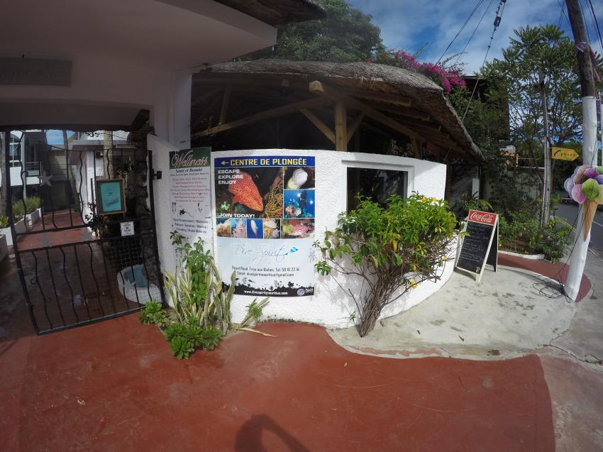 Tauchbasis, Dive Spirit, Mauritius