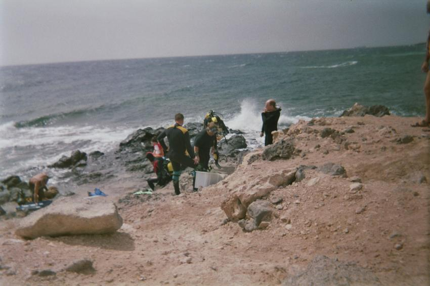 Gran Canaria, Gran Canaria,Spanien,Einstieg,felsig,steinig,beschwerlich