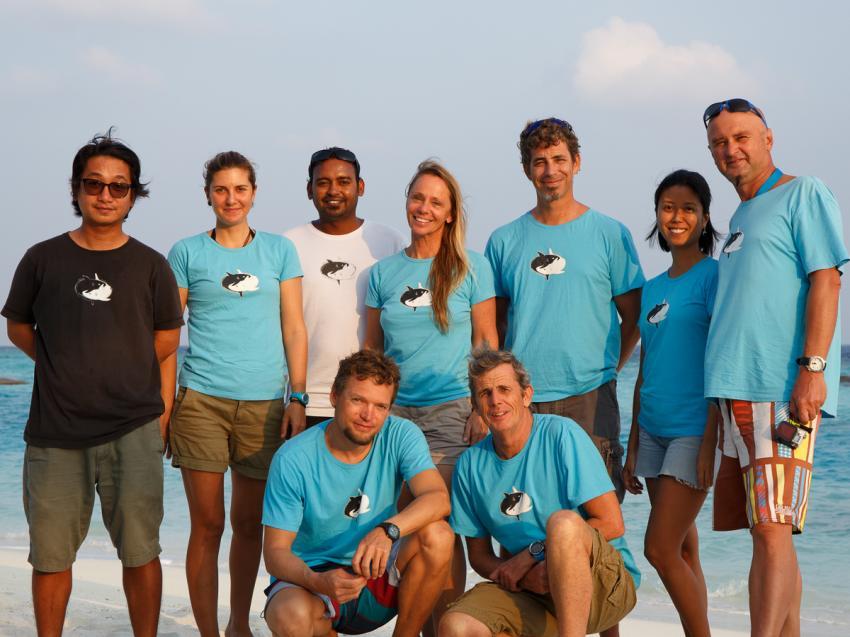 Ocean Dimensions Dive Team, Dive Team, Ocean Dimensions, Kihaa Maldives, Baa Atoll, Malediven