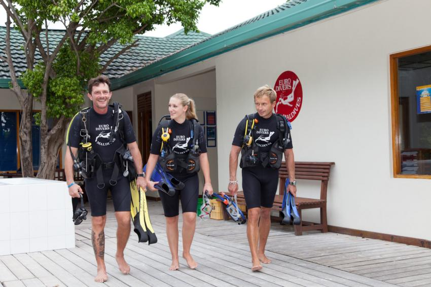 Euro-Divers, Meeru Island Resort & Spa, Malediven