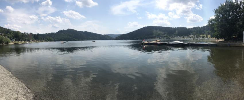 Wassersportzentrum Saalthal-Alter, Hohenwarte-Stausee, Deutschland, Thüringen
