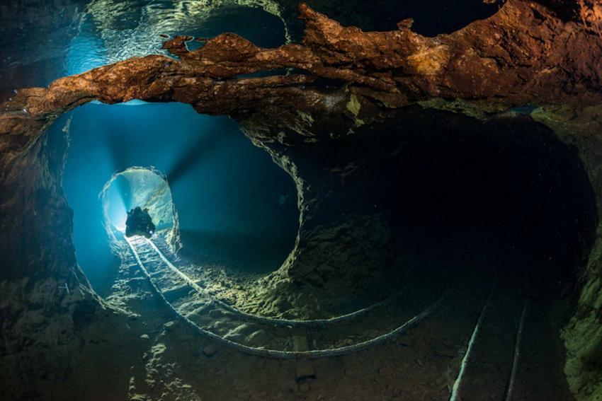 Opal Höhle, Opal Mine, Slowakei