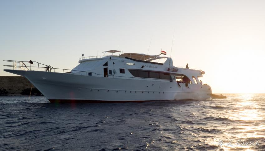 M/Y Mermaid, Ägypten