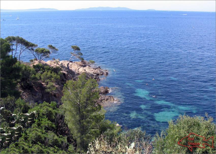 Côte d'Azur / Bormes-les-Mimosas, Cote d'Azur,Frankreich