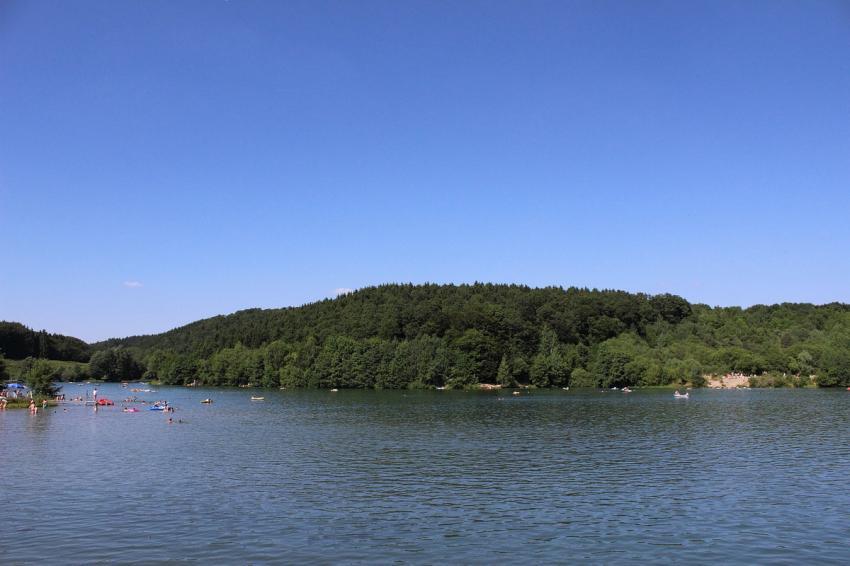 Freilinger See, Freilinger See, Blankenheim, Deutschland, Rheinland Pfalz