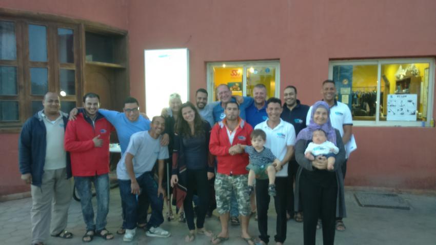 Allesamt, Dive Crew Swordfish, Deep Ocean Blue Diving Center, Marsa Alam, Ägypten, El Quseir bis Port Ghalib