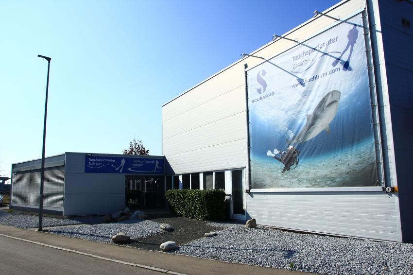 Das Tauchsportcenter Esslingen , Tauchsportcenter Esslingen, Deutschland, Baden Württemberg