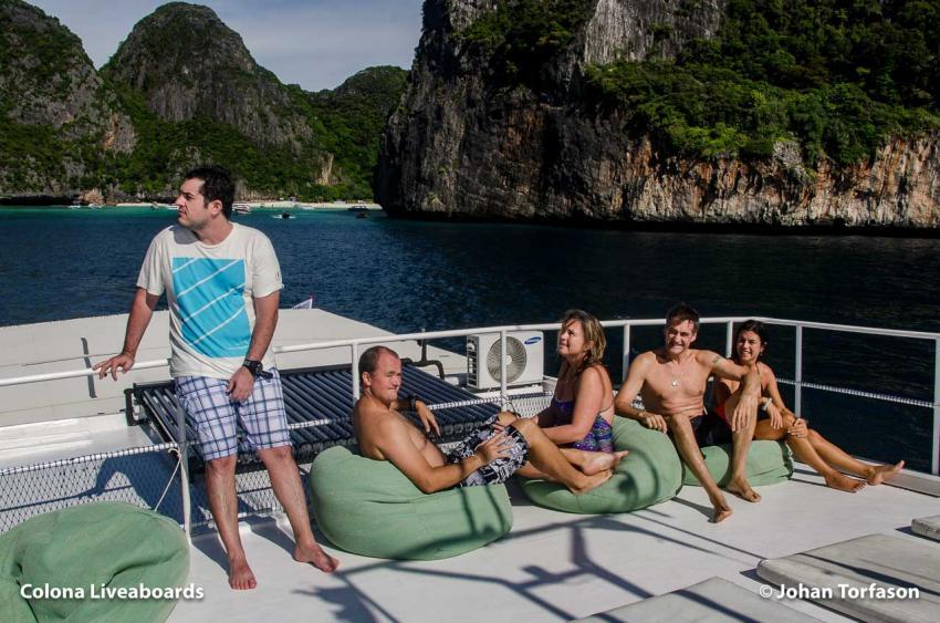 MV Giamani Sun Deck, M/V Giamani, Thailand