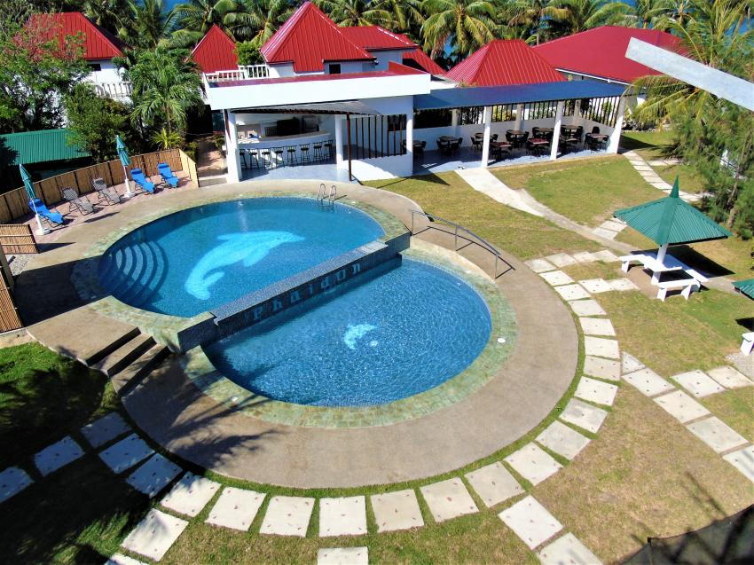 Neues Pool, Phaidon Beach Resort, Pandan, Philippinen