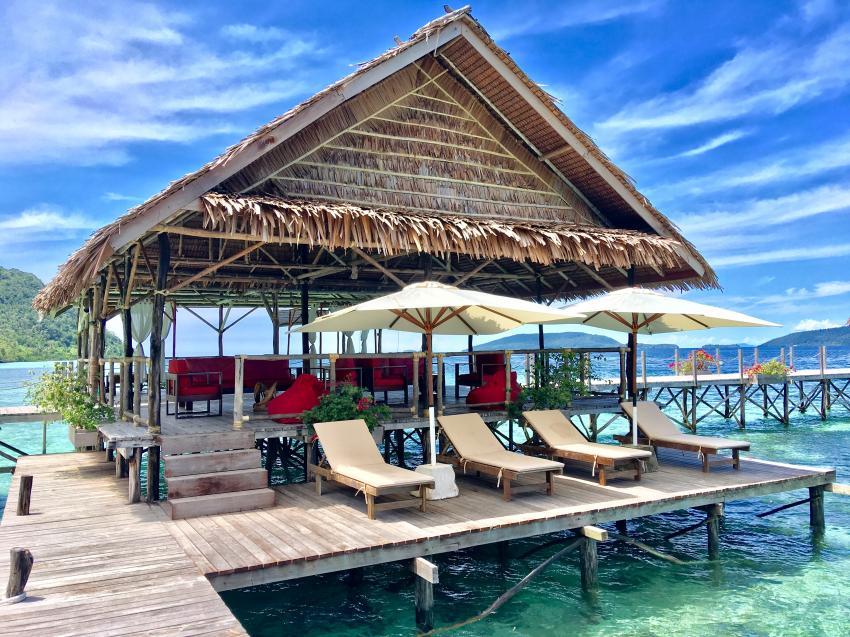 Papua Explorers Sonnenterasse, Tauchen Raja Ampat, Raja Ampat Papua Explorers Resort, Indonesien, Allgemein