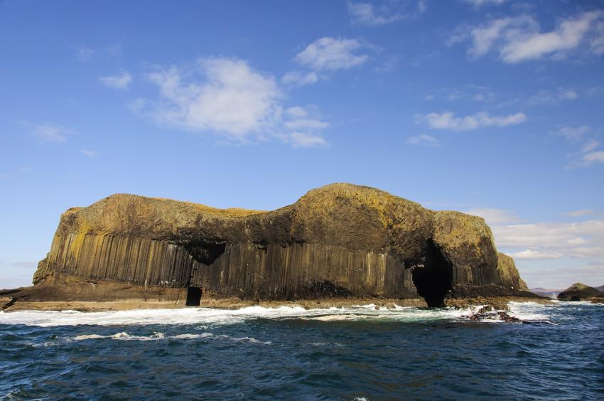 Die Insel Staffa, Fingal's Cave, Staffa, Isle of Mull, Schottland, Tauchen, Schnorcheln, Großbritannien