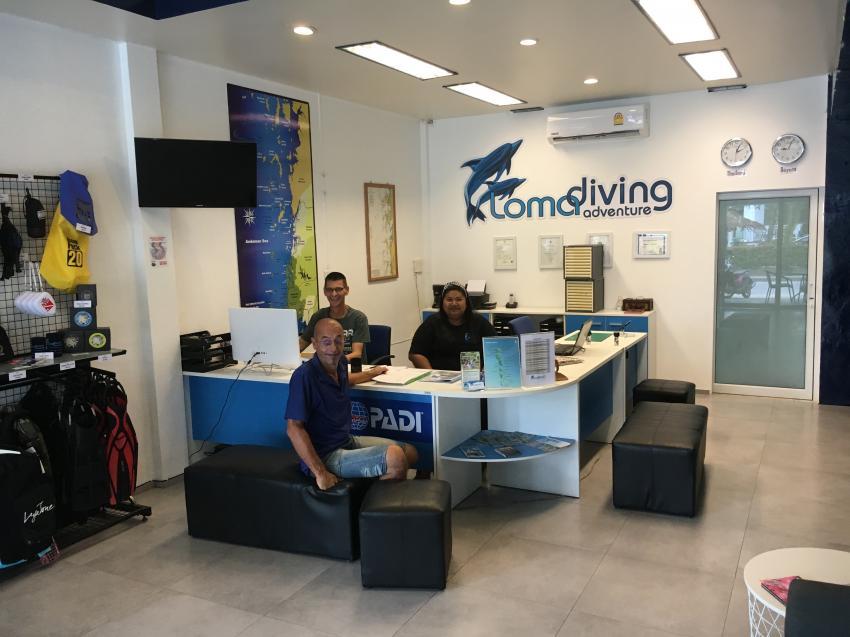 Loma Diving Adventure Khao Lak, Thailand, Andamanensee