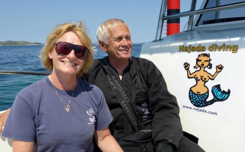 Anna & Kurt, Najada diving, Murter, Kroatien