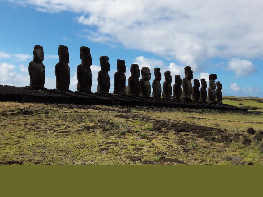 Mike Rapu, Rapa Nui, Osterinsel, Chile