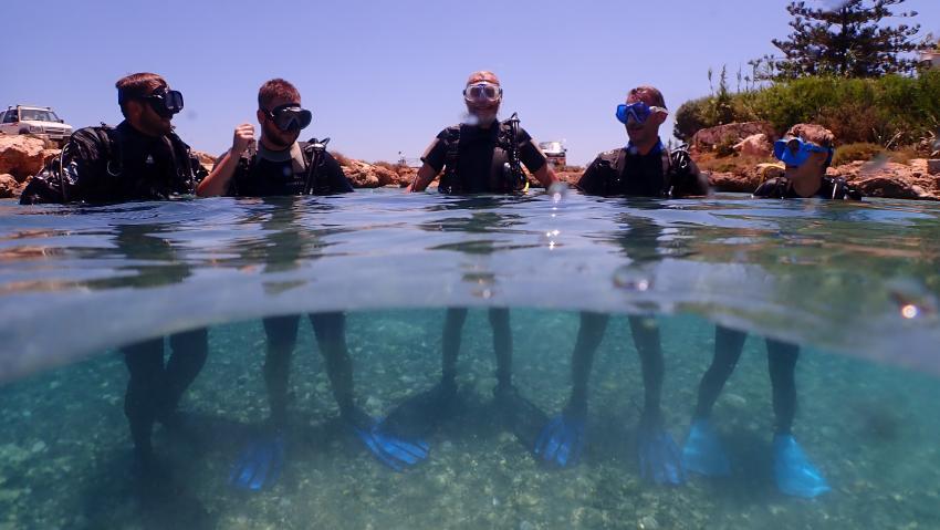 Schnuppertauchen in Agia Napa, Cyprus Diving Centre, Pernera, Zypern