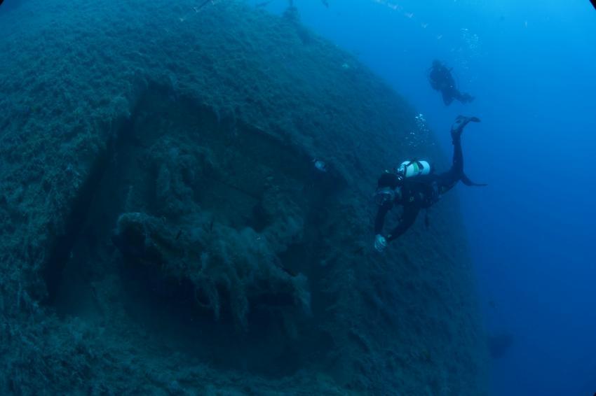 Zenobia - ein ruhender Gigant, Wrack der Zenobia - Larnaca,Zypern