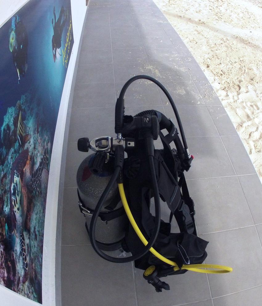 ScubaCaribe Ausrustung, ScubaCaribe Riu Caribe, Mexiko