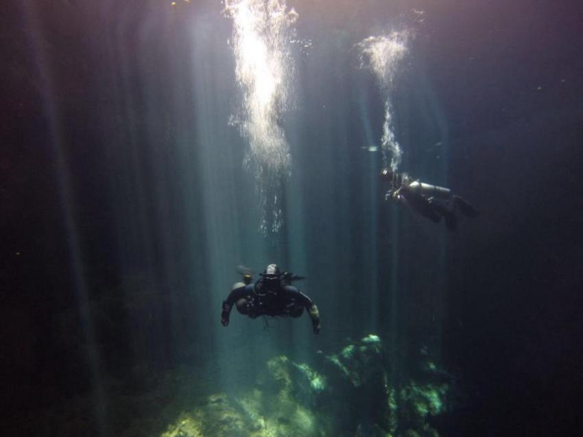 Höhlentauchen Mexico, Cenote-Diving.Com, Mexiko