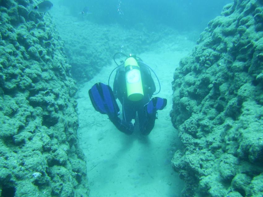 Rauf, runter , links, rechts, zwischen 11 - 15m, Scuba Turtle - Diving School, Türkei