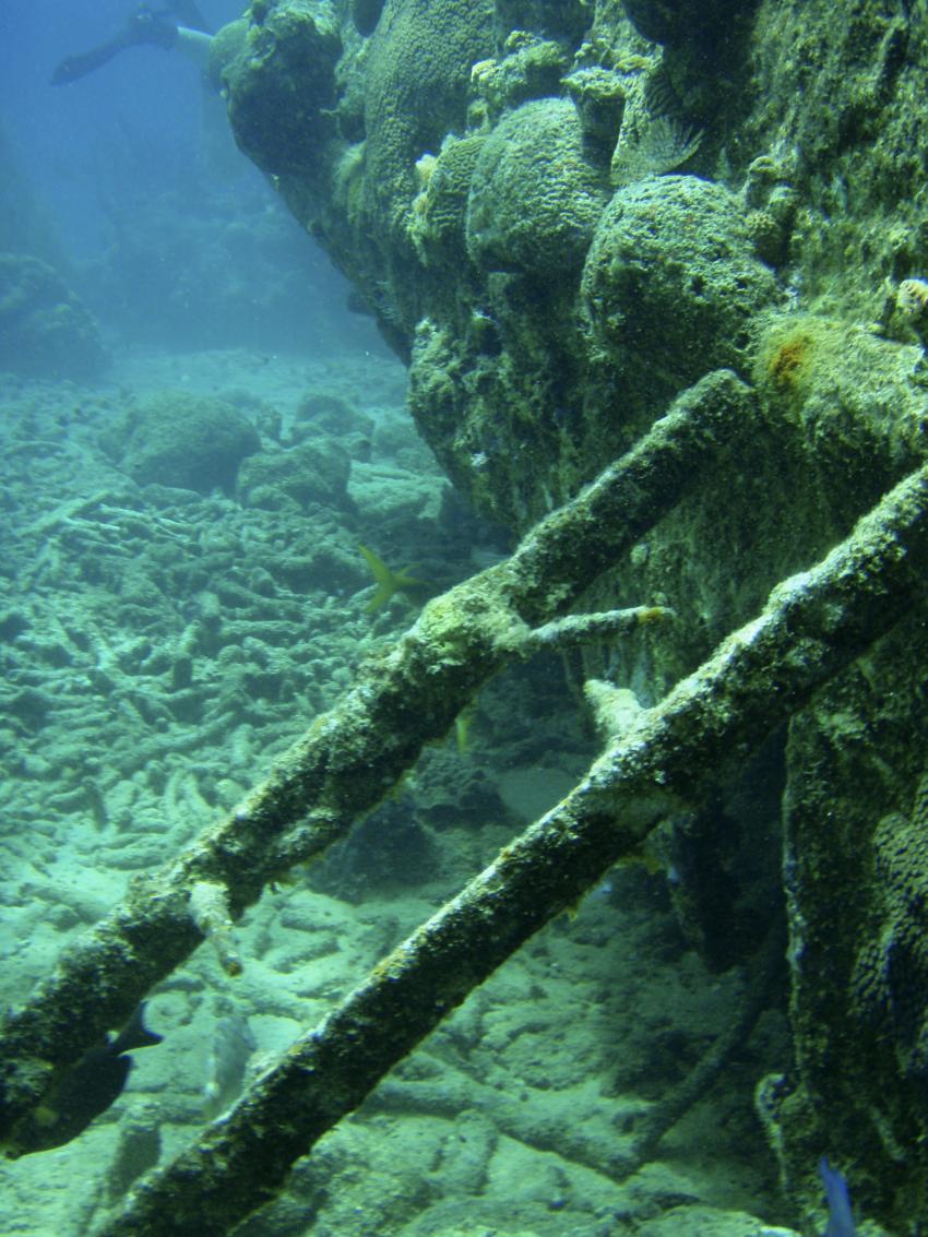 Südküste, Südküste,Curaçao,Niederländische Antillen,Tugboat,leiter,wrack