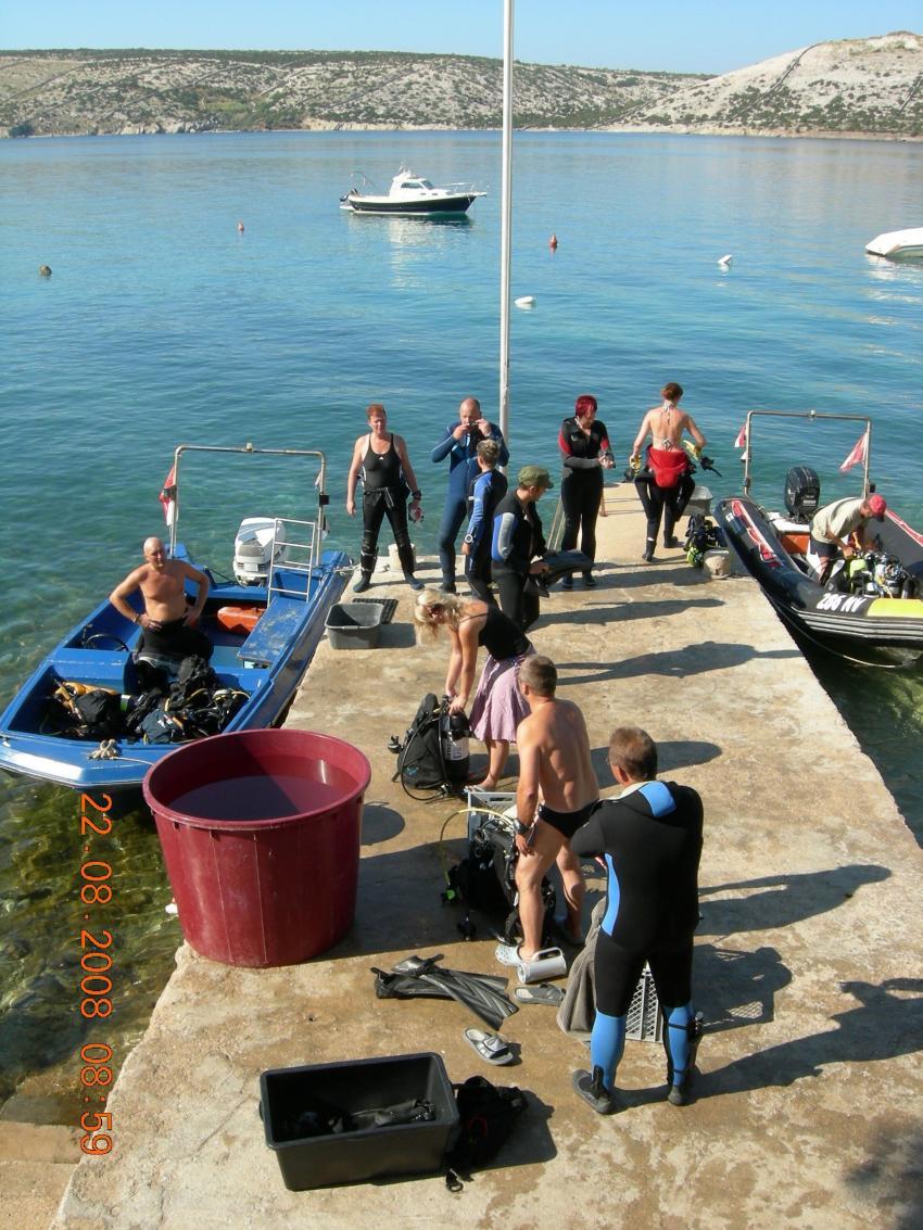 Lagona Divers, Insel Pag