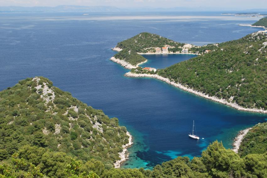 Insel Lastovo, Insel Lastovo,Kroatien,Bucht,Idylle,traumhaft,Wald,Traumstrand