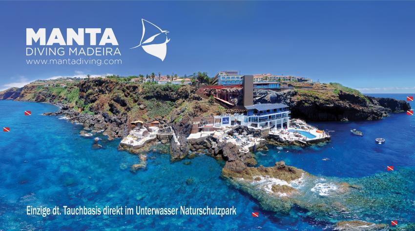 Manta Diving Madeira, Caniço de Baixo , Portugal, Madeira