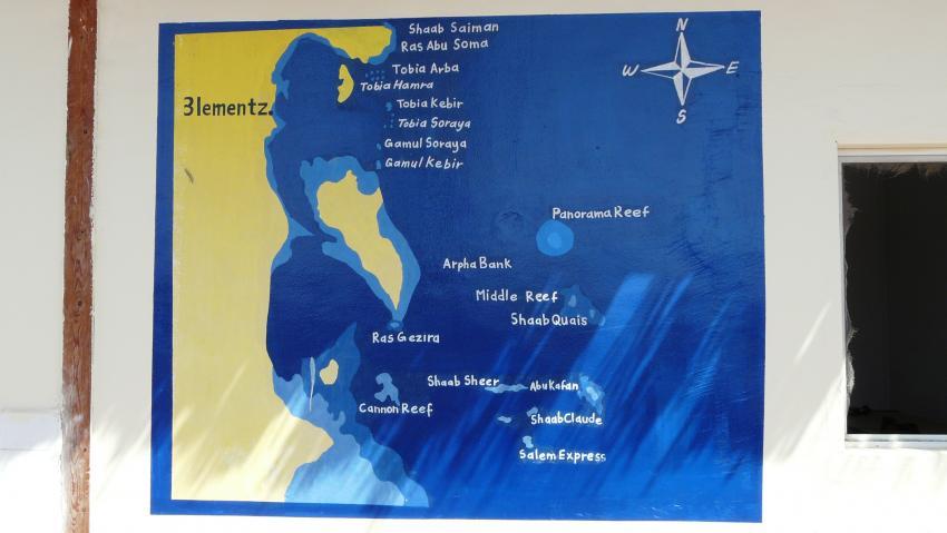 Tauchspots, Aquastars DC, Amwaj Blue Beach Resort, Ägypten, Safaga