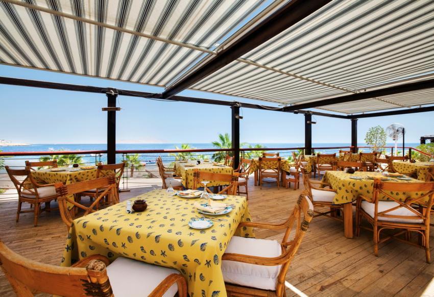 Das Hotel verfügt über mehrere Restaurants, vom Steakhaus bis zum italienisch angehauchten Fischrestaurant. , Royal Savoy, Sharm el Sheikh, Ägypten, Sinai-Süd bis Nabq