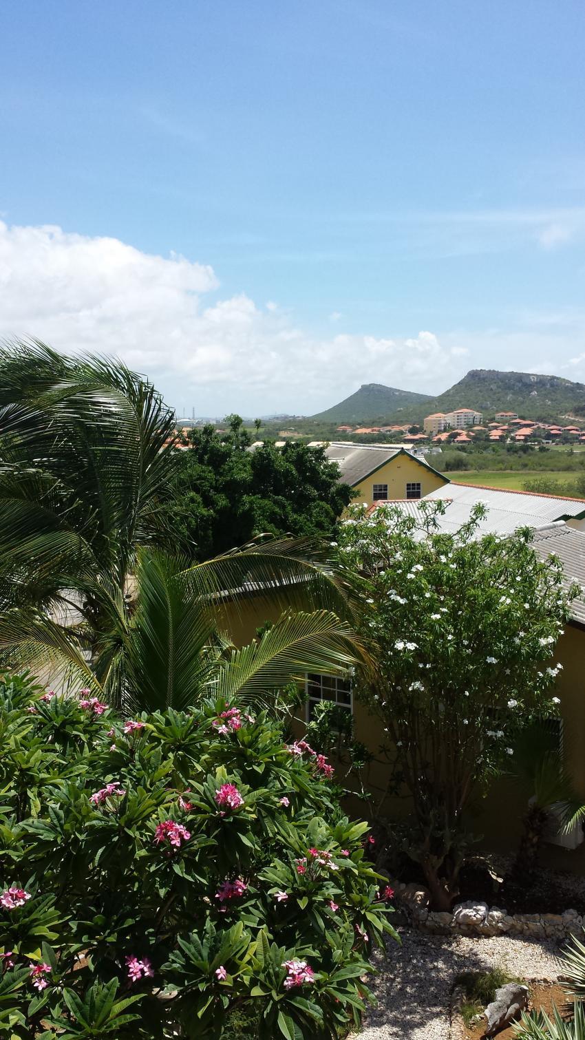 Aussicht auf die Insel 3, Diving Curacao (Kashimiri Apartments), Niederländische Antillen, Curaçao
