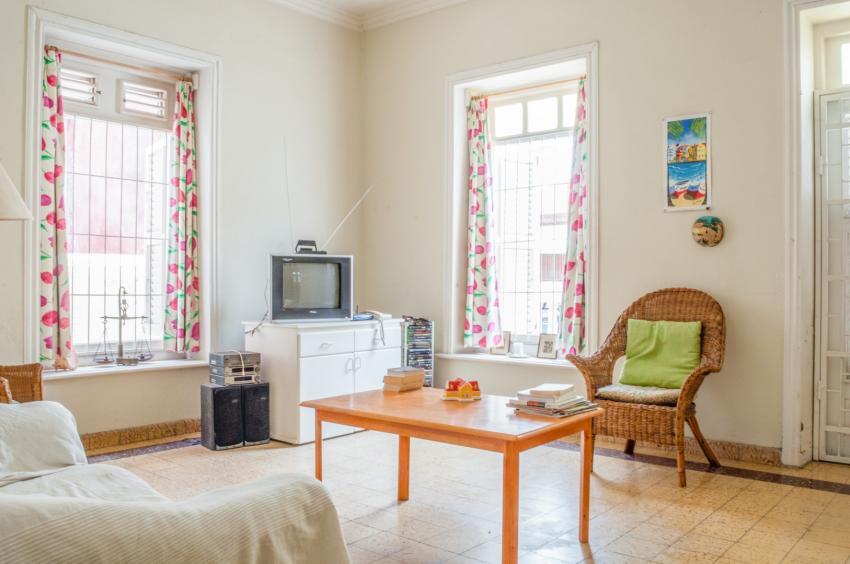 Livingroom, Longe Room, Poppy Hostel Curacao, Willemstad, Niederländische Antillen, Curaçao