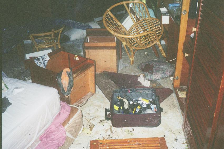 Lohifushi  ( Nord Male Atoll ) Nach der Welle, Lohifushi,Malediven,tsunami,welle,zerstörung,hotel,zimmer,flutwelle