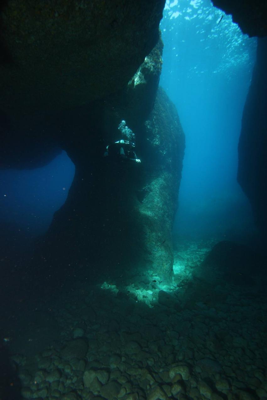 columns of hercules ibiza, san antonio diving, Active Dive, Ibiza, Spanien, Balearen