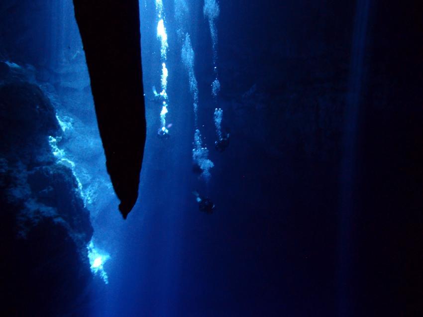 Cenote, Höhlentauchen, Planet Scuba Mexico, Mexiko