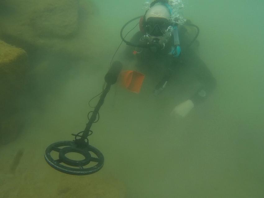 Metaldetektor, Leagues Ahead Diving, Maspalomas , Spanien, Kanaren (Kanarische Inseln)