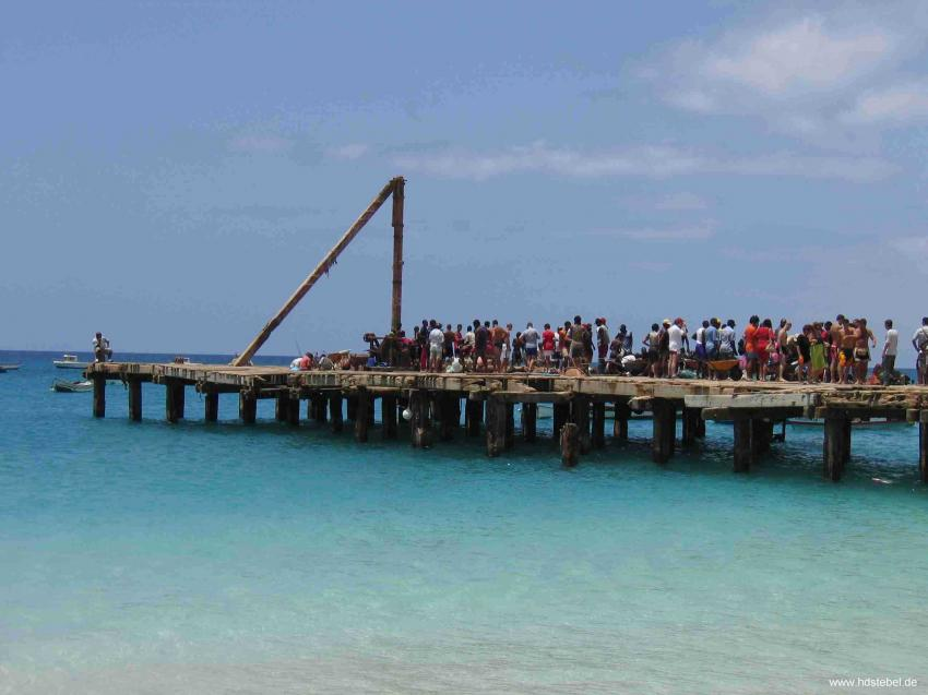 Santa Maria, Insel Sal,St. Maria,Kap Verde,Santa Maria,steg