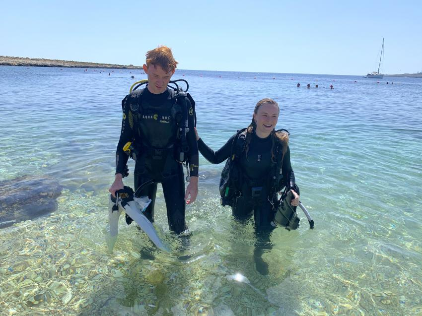 Maltaqua, malta gozo tauchen, Maltaqua, St. Pauls Bay, Malta, Malta - Hauptinsel